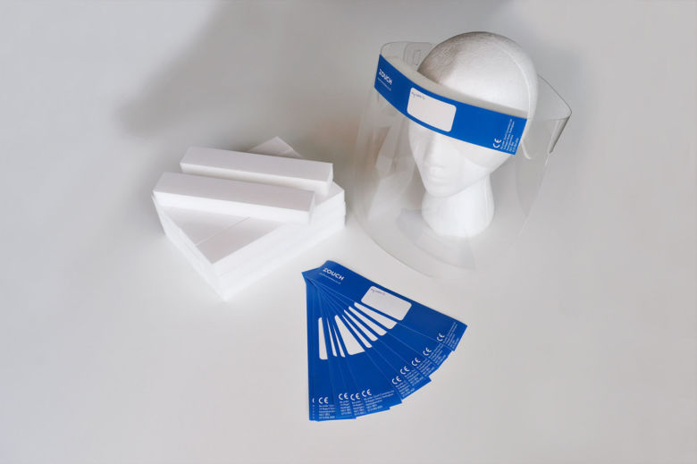 PPE Coronavirus Face Shield