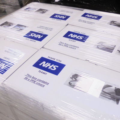 NHS FACE SHIELDS UK